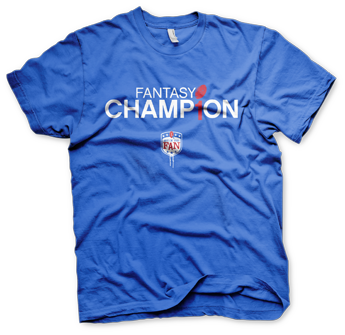 Fantasy Football Champion T Shirt Art Of The Fan Art